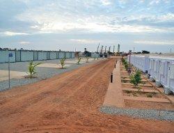 Instalimi i menaxhimit modular te kabinave te kompletuara ne Senegal