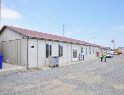 Ndertesat e kampeve te pune te aeroportit te 3te jane perfunduar nga Karmod
