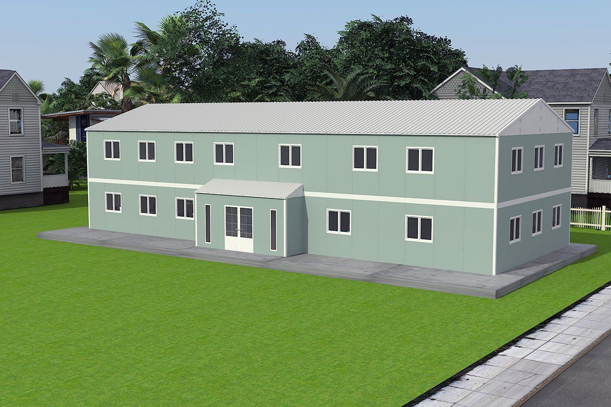 Ndertese modulare zyre 415 m²