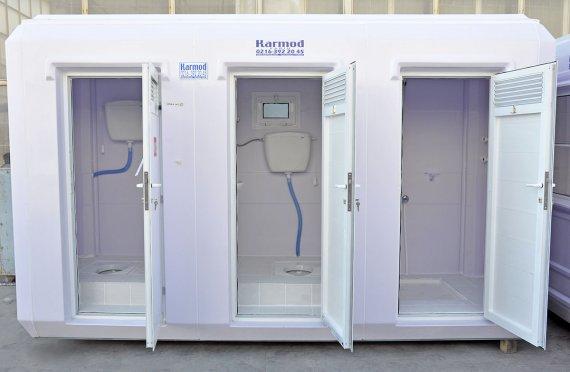 Kabine dushi dhe tualet portabel 150x390