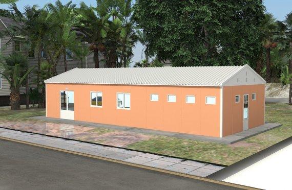 Kafeteri Modulare 98 m²