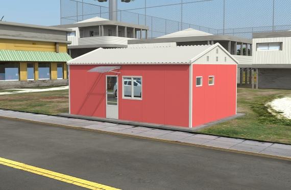 Ndertese zyre modulare 40 m²