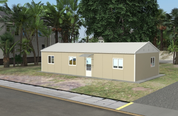 Ndertese zyre modulare 90 m²