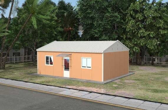 Ndertese zyre modulare 58 m²