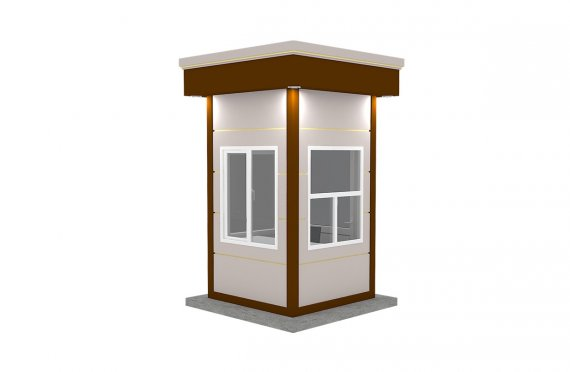 Kabine moderne e prefabrikuar 150x150