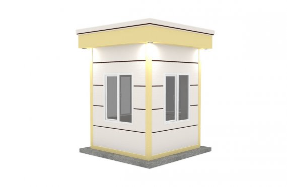 Kabine moderne e prefabrikuar 200x200