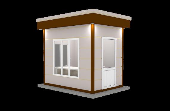 Kabine Moderne e prefabrikuar 200x300