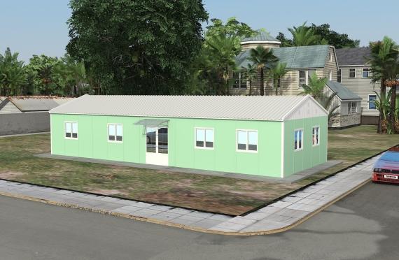 Ndertese zyre modulare 106 m²