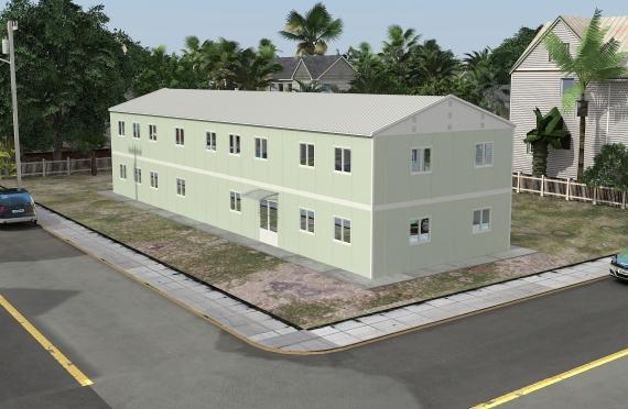 Ndertese zyre modulare 463 m²