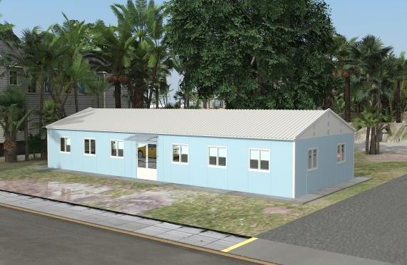 Ndertese zyre modulare 146 m²
