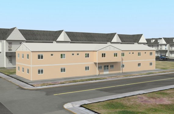 Objekt social modular 793 m²