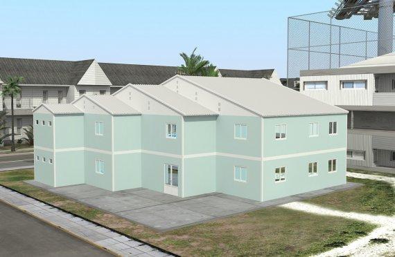Klase e prefabrikuar 508 m²