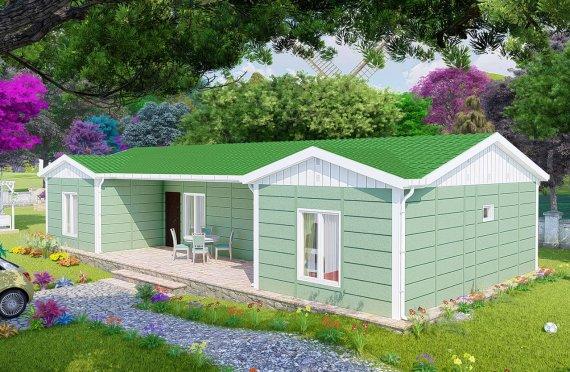 Shtëpitë e reja 102 m2