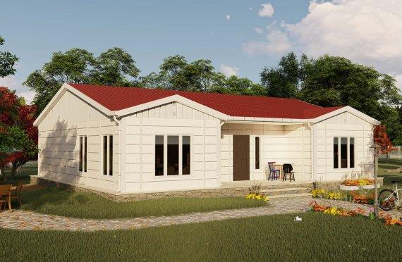 Shtëpitë e reja 123 m2