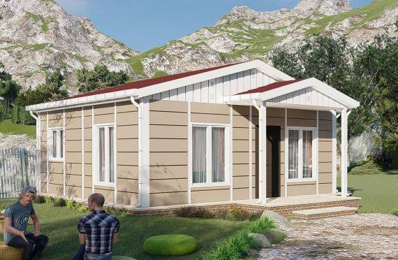 Shtëpitë e reja 45 m2