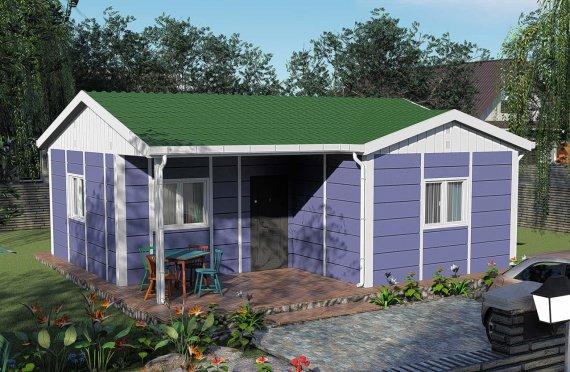 Shtëpitë e reja 51 m2
