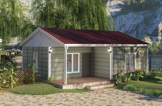 Shtëpitë e reja 64 m2