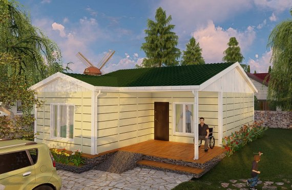 Shtëpitë e reja 73 m2