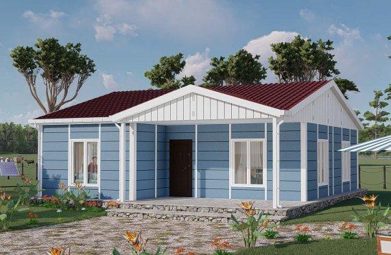 Shtëpitë e reja 82 m2