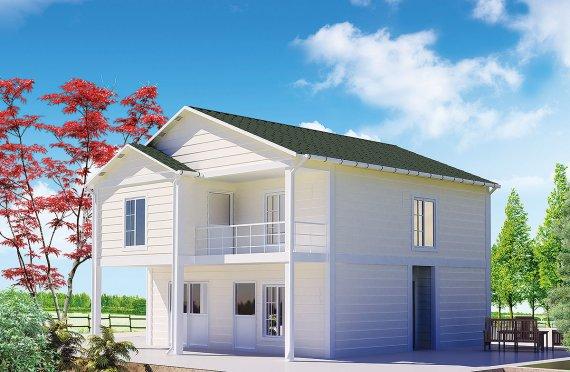 Shtepi e prefabrikuar 130 m²