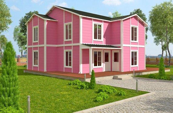 Shtepi e prefabrikuar 147 m²