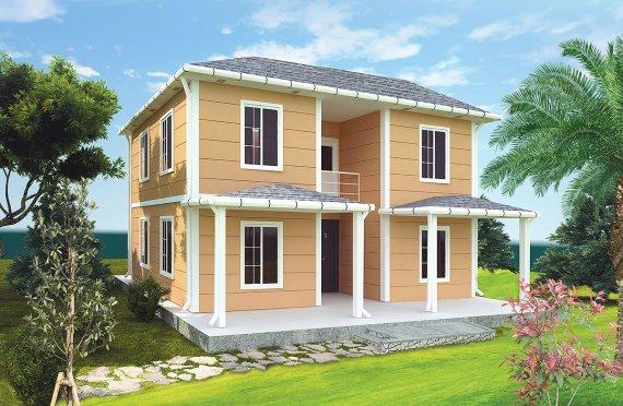 Shtepi e prefabrikuar 148 m²