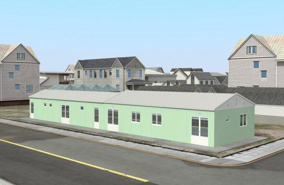 Vend modular per lutje 151 m²