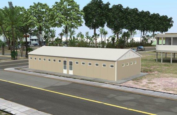 Dush & WC te prefabrikuar 145 m²