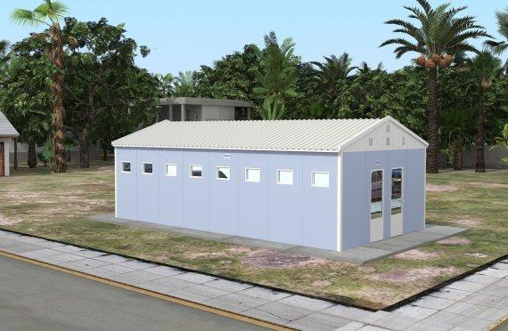 Tualet i prefabrikuar & Ndertese dushi 52 m²