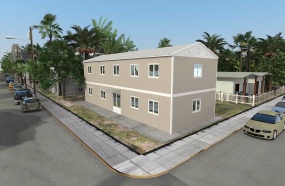 Ndertese modulare zyre 214 m²