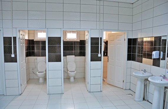 WC dhe dush të prefabrikuara
