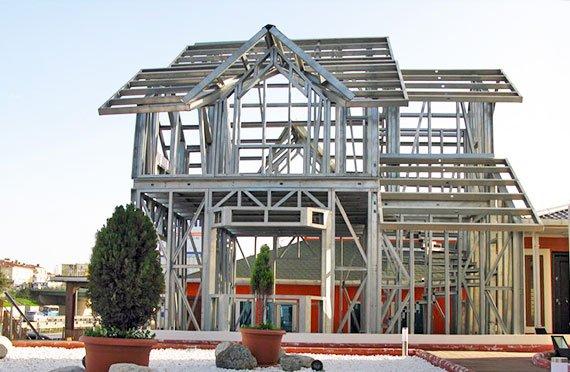 Shtëpi prej çeliku