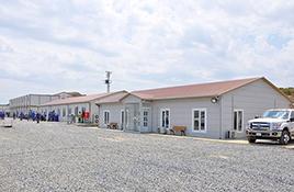 Ndërtesat ushtarake të prefabrikuara