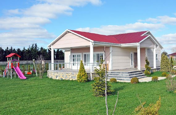 Shtëpi të  prefabrikuara njëkatëshe
