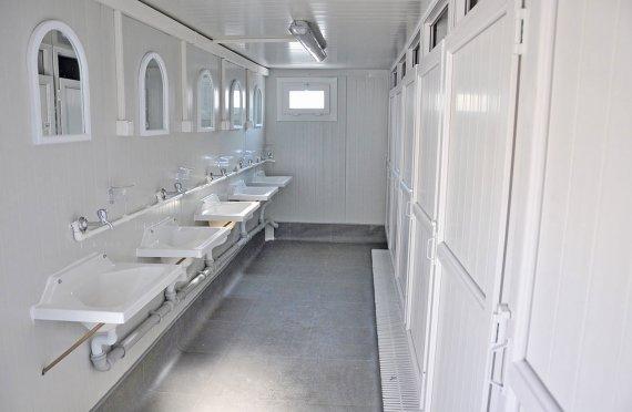 WC dhe dushi - kontenierë sanitare