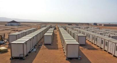 Ne krijuam vende ndërtimi për punëtorët e minierave të arit në Guinea