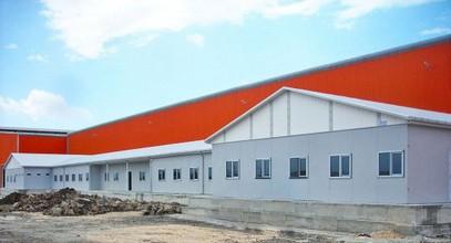 Projekti i prefabrikimit te zones se punes per Kompanine Ufuk Boru u perfundua me sukses