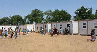 Projekti i shkollës në Nigeri