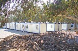 Kompleksi i ndërtimit të kontejnerëve në Libi është i përfunduar