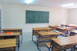 Karmod ka themeluar nje ndertese te prefabrikuar te shkolles se mesme