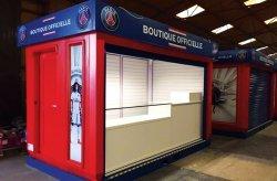 Karmod prodhoi kioskat e dyqaneve per PSG
