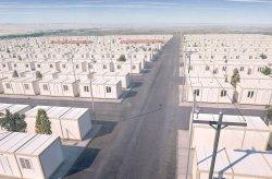 Projekt kontenier i strehimit per refugjatet Sirian