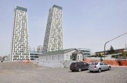 Ndertimi i zyres se shitjeve dhe informacionit te Monumento ne Kartal u perfundua me sukses.
