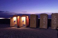 Tualete polietileni portabel